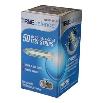 TRUEbalance Test Strips, 50ct