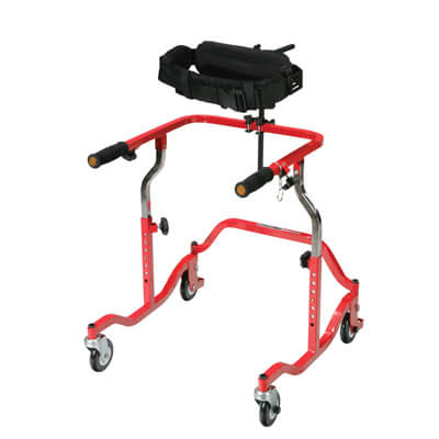 Drive Medical CE-1080-L Trunk Support for Adult Safety Rollers
