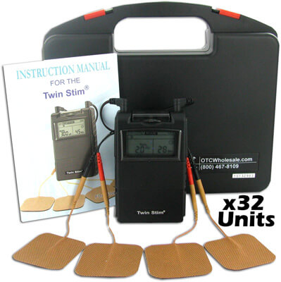 Twin Stim Combo Dual Channel TENS and Muscle Stimulator Unit - DS2200 - 32ea