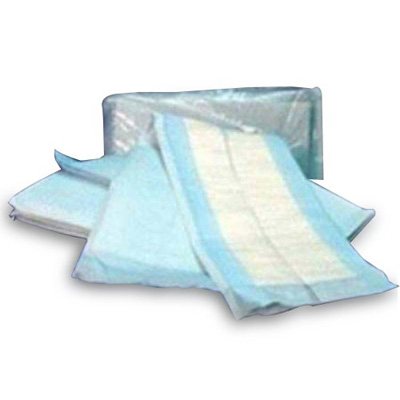 Underpad McKesson 23 X 36 Inch Disposable Polymer Moderate Absorbency