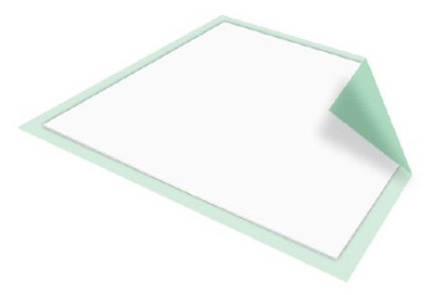 Underpad McKesson Regular 30 X 30 Inch Disposable Fluff / Polymer Moderate Absorbency