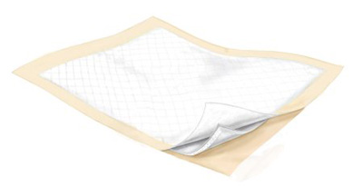Covidien Wings Underpad 23 X 36 Inch Disposable Fluff / Polymer Heavy Absorbency - 982B10 - Case of 100