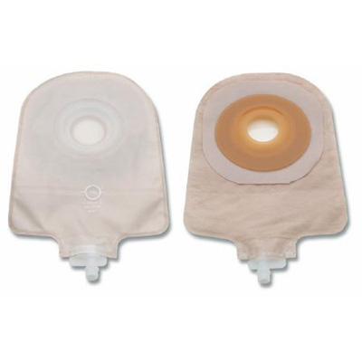 Urostomy Pouch Premier One-Piece System 9 Inch Length 1-3/4 Inch Stoma Drainable Pre-Cut