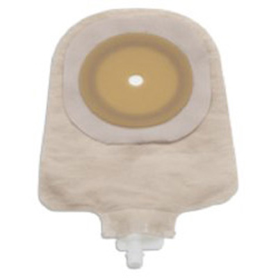 Urostomy Pouch Premier One-Piece System 9 Inch Length Up to 2-1/2 Inch Stoma Flat, Trim To Fit