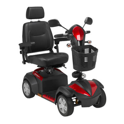 Drive Medical Ventura 4 Wheel Scooter with Captain Seat ventura418cs