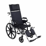 Drive Medical Viper Plus GT 16 inch Reclining Wheelchair with Desk Arms Model pla416rbdda