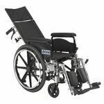 Drive Medical Viper Plus GT 20 inch Reclining Wheelchair with Full Arms Model pla420rbdfa
