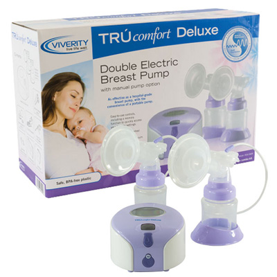 Viverity TRUcomfort Deluxe Double Electric Breast Pump