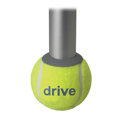 Drive Medical Walker Rear Tennis Ball Glides with Additional Glide Pads 10121