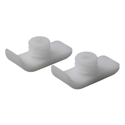 Drive Medical Walker White Ski Glides 10110