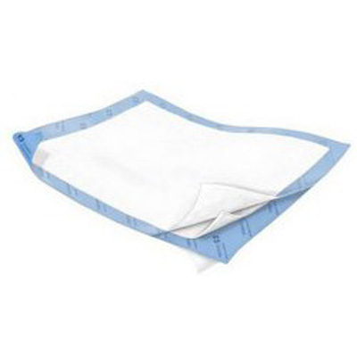 Wings Positioning Underpad Quilted 40 x 57 in Disposable Polymer Heavy Absorbency