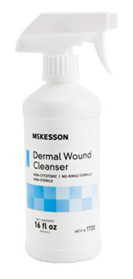 Wound Cleanser McKesson 16 oz. Spray Bottle NonSterile