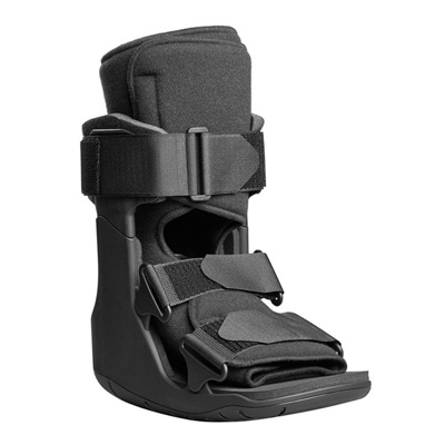 XcelTrax Ankle Walker Boot Small Hook and Loop Closure Female Size 6 - 8 / Male Size 4.5 - 7 Left or Right Foot