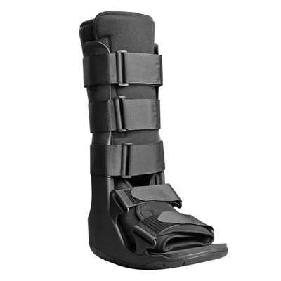 XcelTrax Tall Walker Boot Small Hook and Loop Closure Female Size 6 - 8 / Male Size 4.5 - 7 Left or Right Foot