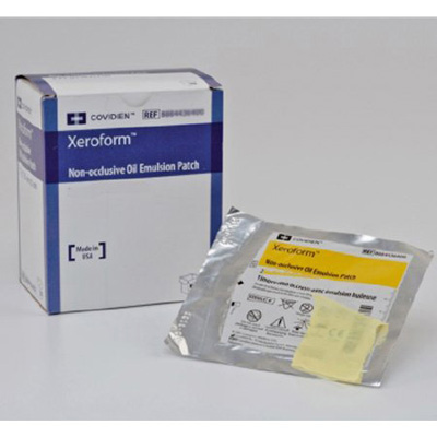 Xeroform Petrolatum Dressing Covidien 5 x 9 in Gauze Bismuth Tribromophenate Sterile