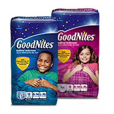 Youth Absorbent Underwear GoodNites Pull On Large / X-Large Disposable Heavy Absorbency