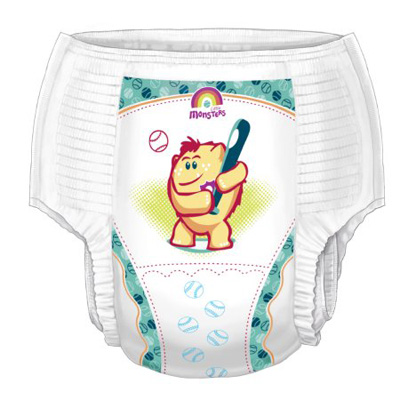 Youth Training Pants Curity Pull On X-Large Disposable Heavy Absorbency