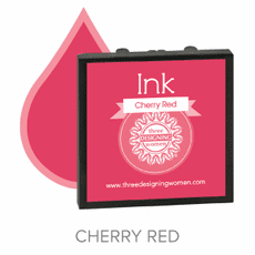 Three Designing Women Ink - Cherry Red