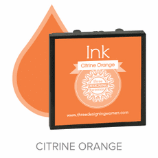 Three Designing Women Ink - Citrine Orange
