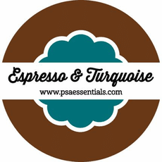 Espresso and Turquoise Ink