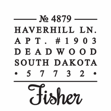 Fisher Stamp