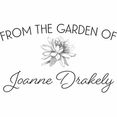 Flowers From The Garden Stamp - The Drakley