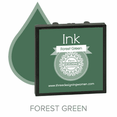 Three Designing Women Ink - Forest Green