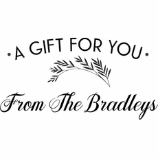 Gift Stamp Tag - The Bradleys