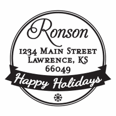 Holiday Stamp - Holiday Banner