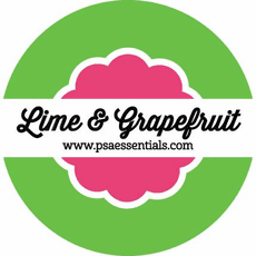 Lime and Grapefruit Ink