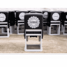 Three Designing Women Personalized Self Inking Stamps