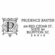 Rectangle Stamp - Prudence