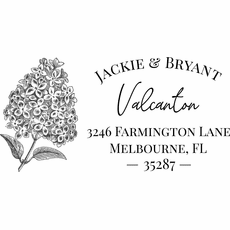 Return Address Stamp - The Valcanton