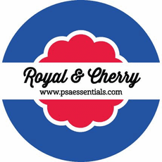 Royal and Cherry Ink