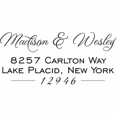 Self Inking Stamp - The Madison