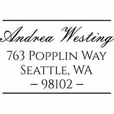 Self Inking Stamp - The Westing