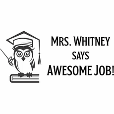 Teacher Stamps - The Mrs. Whitney