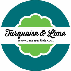PSA Essentials - Turquoise & Lime Ink