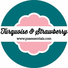 PSA Essentials - Turquoise & Strawberry Ink