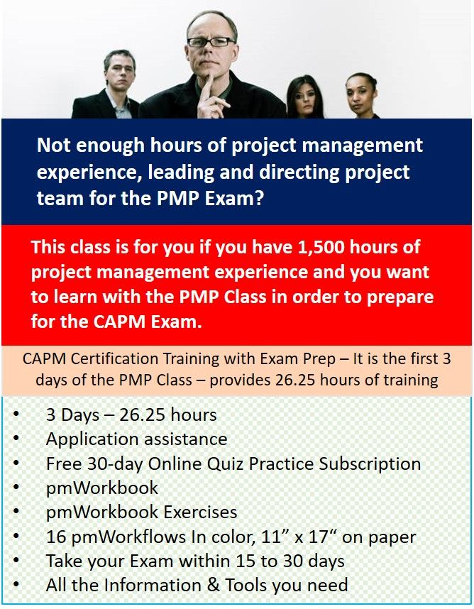 Capm Certification Course Pmp Course Dc Seattle Online
