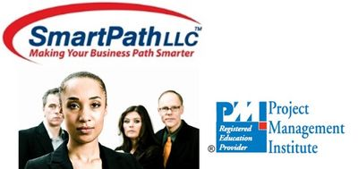For SmartPath LLC PMP® Trainees only – All PMP® Materials Package Only: pmWorkbook, pmWorkbook Exercises, 16 Workflows printed on 8 large glosses pages  - Version V6.  See Descriptions