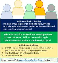 PMI-ACP (Agile) Certification with Exam Prep, 100% Live Online Training, Guaranteed2Run at the time of Purchase - Fully  Instructor Led Training - Guaranteed2Run at the time of purchase.
