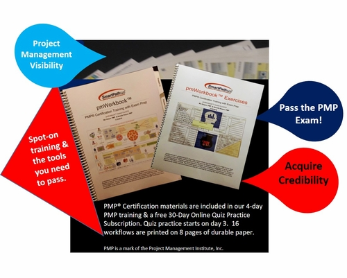 PMP 100% Live 4-Day Live Online<br>For Former SmartPath LLC <br> PMP Trainees - Special for Current<br> PMP Exam