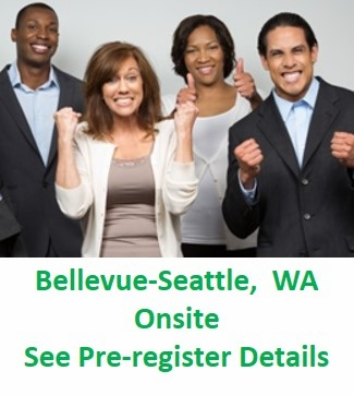 PMP(R) Certification Training With <br>Exam Prep, Bellevue-Seattle WA <br>- Click on the down arrow to see other <br>possible dates.