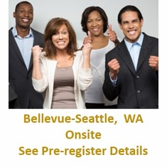 PMP(R) Certification Training With <br>Exam Prep, Bellevue-Seattle WA <br>- Click on the picture defining <br>the class, then call 360-584-8614 and <br>Pre-Register for Onsite <br>Training.  The Exam is not included.