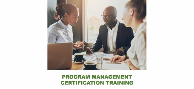 Program Management Professional(R)<br> Certification With Exam Prep, <br>100% Live Online.<br>  The exam is not included.