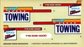 """Revell 1977 GMC Wrecker Tow Truck """"Lenny's Towing"""" Decals, 6.75 x 3.75 inches"""