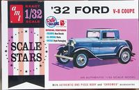 AMT 1932 Ford 3-Window Coupe, 1/32 Scale