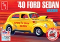 "AMT 1939-1940 Ford 2 Door Sedan ""Spick 'N Span Sedan,"" Stock, Drag Gasser or Street Rod"