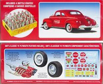 """AMT 1941 Plymouth Coupe, Stock, Street Machine or """"Coca-Cola"""""""